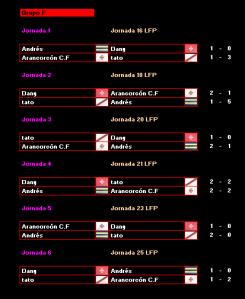Grupo F (Rojo)_Calendario