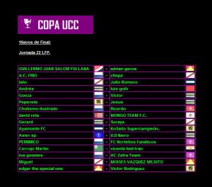 16avos Copa UCC