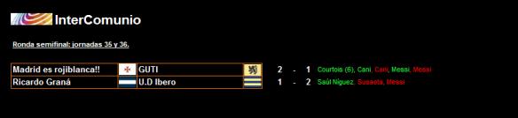 Semifinales InterComunio