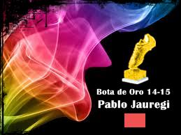 Bota de Oro 14-15 Pablo Jauregi