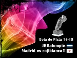 Bota de Plata 14-15 JRBalompie y Madrid es Rojiblanca!!