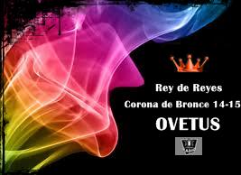 OVETUS Corona de Bronce UCC 14-15