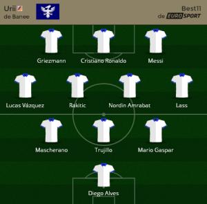 Urii Mejor 11 para SuperCopa 2014-15