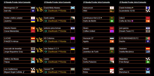 Sorteo de 1ª y 2ª ronda de InterComunio 15-16 parte 1