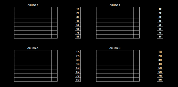 Formato grupos EFGH