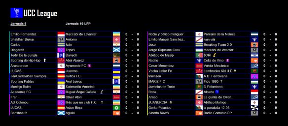Partidos_UCC League_Jornada 6