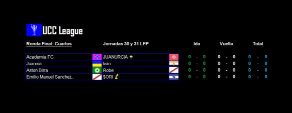 Partidos_UCC League_Cuartos_ida