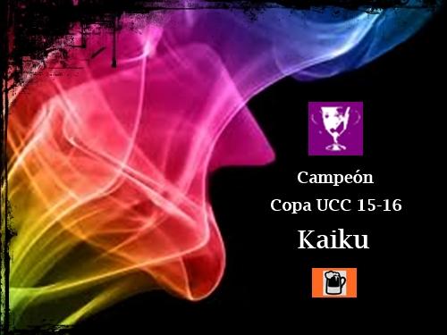 Campeón Copa UCC 15-16_Kaiku