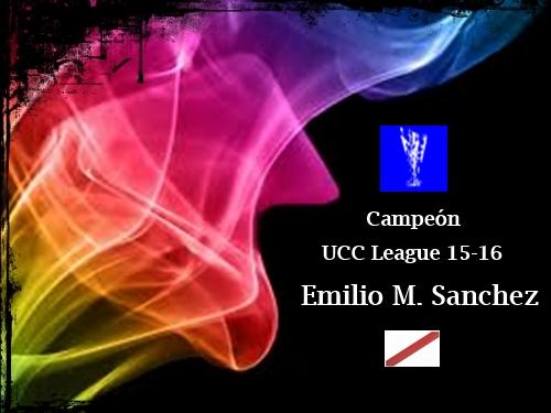 Campeón UCC League 15-16_Emilio Manuel Sanchez Fernandez