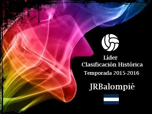 Líder Clasificación Histórica 15-16_JRBalompié