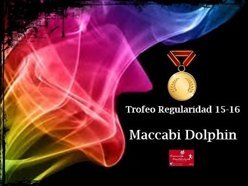 Trofeo a la Regularidad 15-16_Maccabi Dolphin