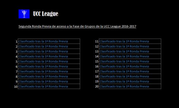 UCC League 2016-2017_2ª Previa