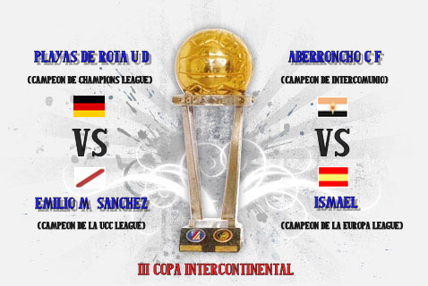 Cartel III Edición Copa InterContinental