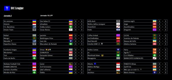 partidos-de-la-3a-jornada-de-la-ucc-league