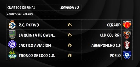Presentación de los Cuartos de Copa UCC.