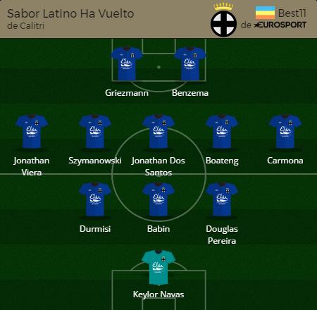 Sabor Latino Ha Vuelto J28_97 puntos_completo