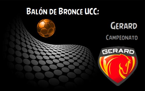 Balon de Bronce_Gerard