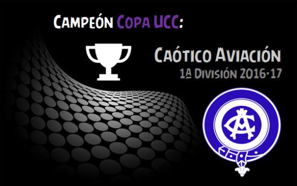Campeón Copa UCC_Caótico Aviación