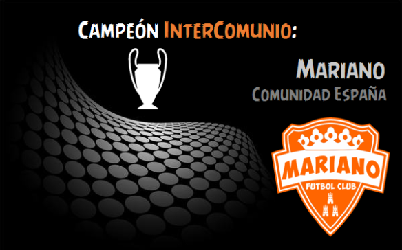 Campeón InterComunio_Mariano