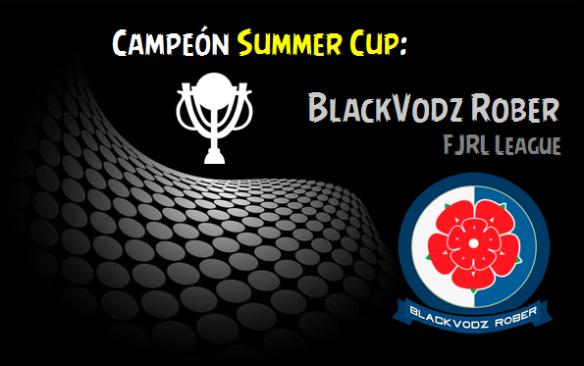 Campeón Summer Cup_BlackVodz Rober