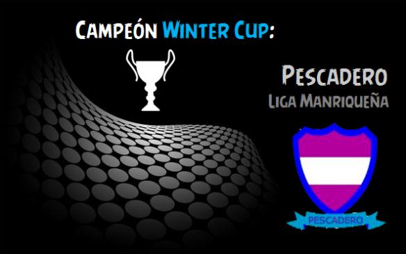 Campeón Winter Cup_Pescadero