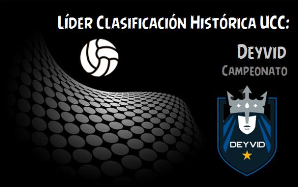 Líder Clasifiación Histórica_Deyvid