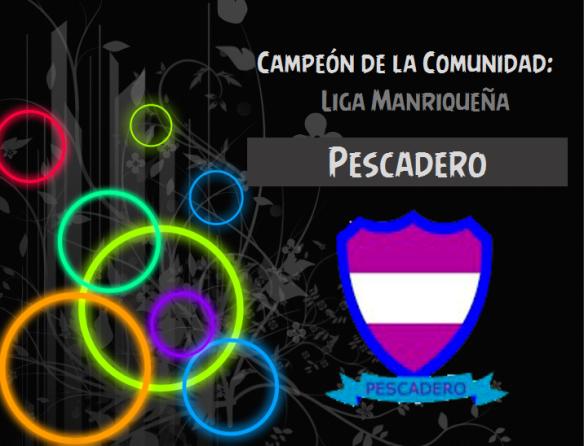 Liga Manriqueña_Pescadero