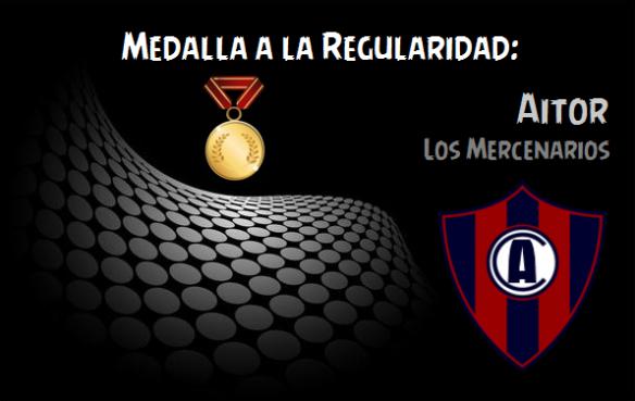 Medalla a la Regularidad_Aitor