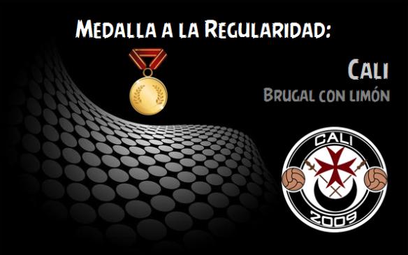 Medalla a la Regularidad_Cali