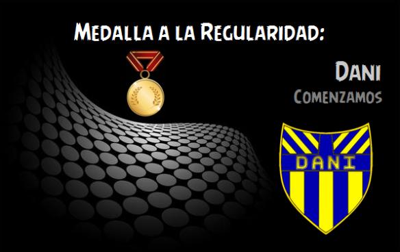 Medalla a la Regularidad_Dani