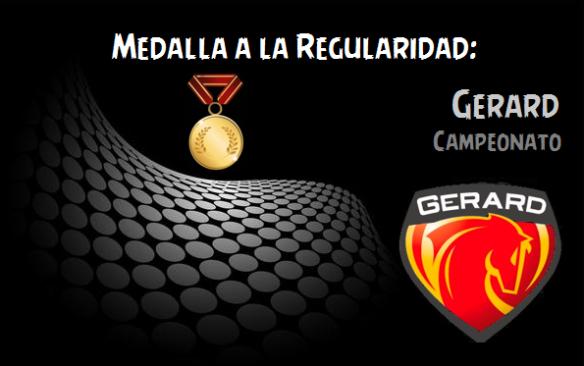 Medalla a la Regularidad_Gerard