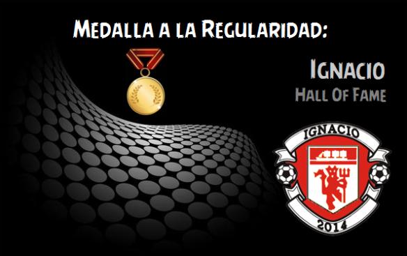 Medalla a la Regularidad_Ignacio