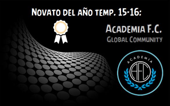 Novato del año 15-16_Academia F.C.