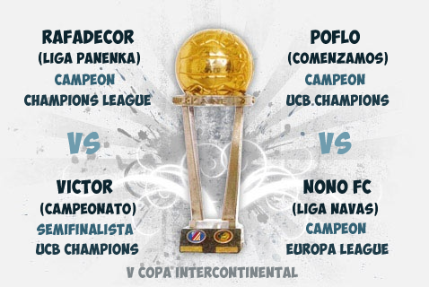Cartel V Copa Intercontinental