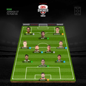 Robe_Alineacion Supercopa_4 goles